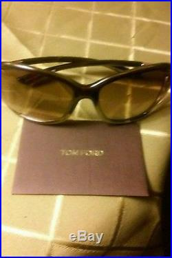 100 % authentic Tom ford, jennifer 61 mm polarized sunglasses