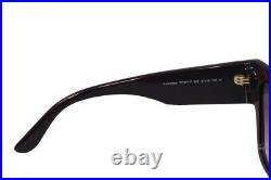 Authentic TOM FORD Anoushka FT0371F-50F Brown Dk Brown/Brown Gradient Sunglasses