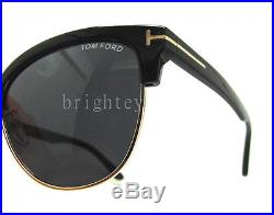 Authentic TOM FORD Fany Black Sunglasses FT TF 368 01A NEW