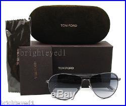 Authentic TOM FORD James Bond 007 Marko Aviator Sunglass TF 144 08B NEW