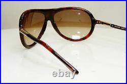 Authentic TOM FORD Mens Designer Sunglasses Brown Pilot Fonda TF 22 820 29780