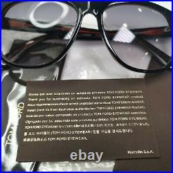 Authentic TOM FORD Mens Sunglasses Black Glossy Smoke Grey Olivier TF 236 05B