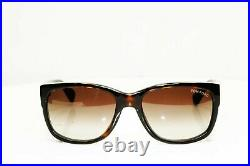 Authentic TOM FORD Mens Sunglasses Unisex Dark Havana Brown CARSON TF441 52K