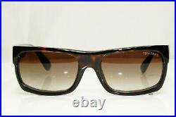 Authentic TOM FORD Mens Sunglasses Unisex Dark Havana Brown TOBY TF440 52K 32189