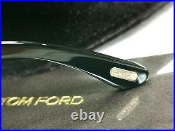 Authentic TOM FORD Mens Sunglasses Unisex Glossy Black Christopher 02 TF633 001