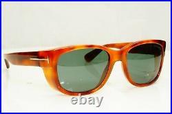 Authentic TOM FORD Mens Sunglasses Unisex Light Havana Brown CARSON TF441 53N