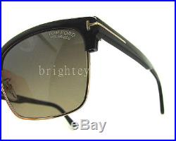 Authentic TOM FORD River Polarized Black Sunglasses FT TF 367 01D NEW