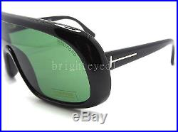 Authentic TOM FORD Sven Black Shield Sunglasses FT TF 471 01N NEW