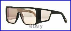 Authentic Tom Ford Atticus FT 0710 01Z Shiny Black Sunglasses