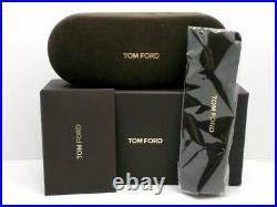 Authentic Tom Ford FT5588 B 001 Shiny Black, Shiny Rose Gold Eyeglasses