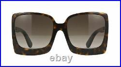 Authentic Tom Ford KATRINE 02 FT 0617 52K Dark Havana Sunglasses