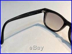 Authentic Tom Ford Leo TF336 336 Sunglasses Brown Striped Black Wood Look 05K