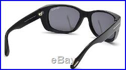 Authentic Tom Ford Men FT0441 Carson Black Frame Italy Sunglasses Shades New