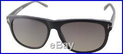 Authentic Tom Ford Olivier FT0236 TF 236 02D Matte Black Plastic Sunglasses