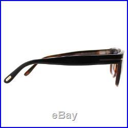 b2a503d53b Authentic Tom Ford Snowdon FT0237 TF 237 05B Black Plastic Sunglasses 50mm