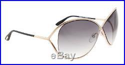 Authentic Tom Ford Women Sunglasses TF 130 Rose Gold 28B Miranda 68mm