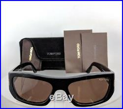 Brand New Authentic Tom Ford Sunglasses FT TF 0593 TF593 01J Rodrigo 02 Frame