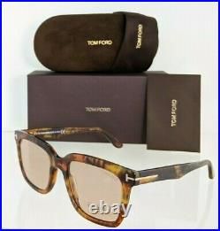 Brand New Authentic Tom Ford Sunglasses FT TF 0646 55E Marco 02 TF 646 53mm