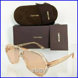 Brand New Authentic Tom Ford Sunglasses FT TF 0732 45E Thomas Frame TF732 61mm