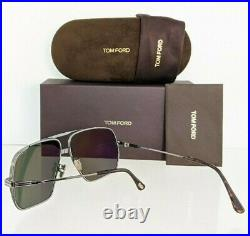Brand New Authentic Tom Ford Sunglasses FT TF 0735 12N TF735 Frankie-02 62mm