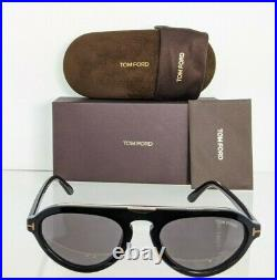 Brand New Authentic Tom Ford Sunglasses FT TF 0737 01A TF737 Milo-02 54mm Frame