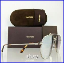 Brand New Authentic Tom Ford Sunglasses FT TF 536 16Z Sean Frame TF0536 60mm