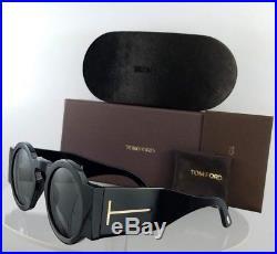 Brand New Authentic Tom Ford Sunglasses FT TF 603 01A Tatiana-02 Shiny Black