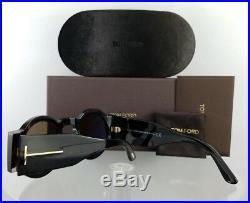 Brand New Authentic Tom Ford Sunglasses FT TF 603 52J Tatiana-02 Dark Tortoise