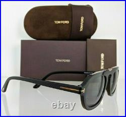 Brand New Authentic Tom Ford Sunglasses FT TF 736 01A Sebastian-02 Frame TF736