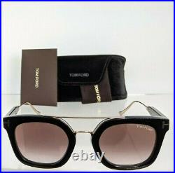 Brand New Authentic Tom Ford Sunglasses FT TF541 01F Alex-02 Frame TF 0541 51mm