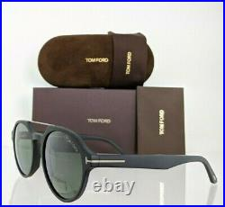 Brand New Authentic Tom Ford Sunglasses FT TF696 02N STAN TF 0696 55mm Frame