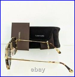 Brand New Authentic Tom Ford Sunglasses Huck FT TF665 56N Frame TF 0665 56mm