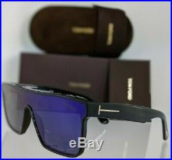 Brand New Authentic Tom Ford Sunglasses WHYAT TF 709 01Z TF FT 0709 Frame