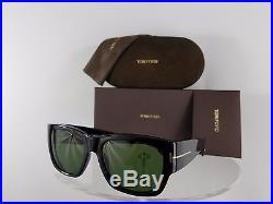 Brand New Authentic Tom Ford TF493 Sunglasses Stephen TF493 01N Black Frame