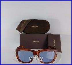 Brand New Authentic Tom Ford TF493 Sunglasses Stephen TF493 53V Tortoise Frame
