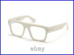 Brand New TOM FORD Eyeglasses FT5634 025 Ivory Authentic 53 mm Square