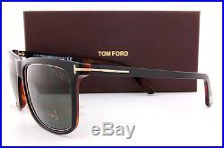Brand New Tom Ford Sunglasses FT 0392 392 Karlie 01R Black/Green Polarized Men