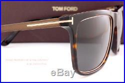 Brand New Tom Ford Sunglasses FT 392 Karlie Color 52J Dark Havana/Gray for Men
