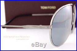 Brand New Tom Ford Sunglasses FT 450 Cliff 14C Gunmetal/Gray Men Aviator