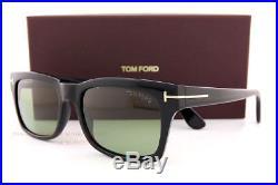 Brand New Tom Ford Sunglasses FT 494 Frederik 01N Black/Green Men Women