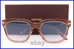 Brand New Tom Ford Sunglasses Rhett FT 0714 45Q Brown/Blue Grey Lenses For Men