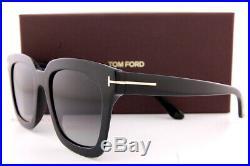 Brand New Tom Ford Sunglasses Sari FT 0690 01D Black/Gray Polarized For Women