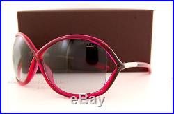 Brand New Tom Ford Sunglasses TF 0009 Whitney 72B Fuchsia/Grey Gradient Women