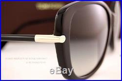 Brand New Tom Ford Sunglasses TF 0324 324 Linda 01B Black/Grey For Women