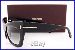 Brand New Tom Ford Sunglasses TF 459 Kasia 05B Black/Grey Gradient Women