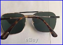 Genuine Brand New Tom Ford Sunglasses TF 0377 377 28R Gold/Green Men
