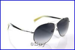 NEW Authentic TOM FORD EVA Gunmetal Grey Pilot Sunglasses TF 374/S 15B FT 374