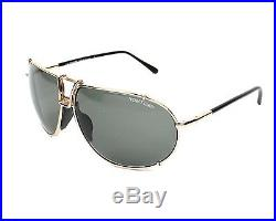 NEW Authentic TOM FORD Milan Gold Black Aviator Sunglasses TF 238 FT 0238 28A