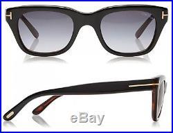 NEW Bond 007 SPECTRE TOM FORD Snowdon 52 MM Black Sunglasses TF 237 FT 0237 05B