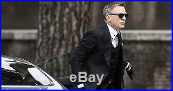 7a534b48f2f62 NEW Bond 007 SPECTRE TOM FORD Snowdon 52 MM Black Sunglasses TF 237 FT 0237  05B